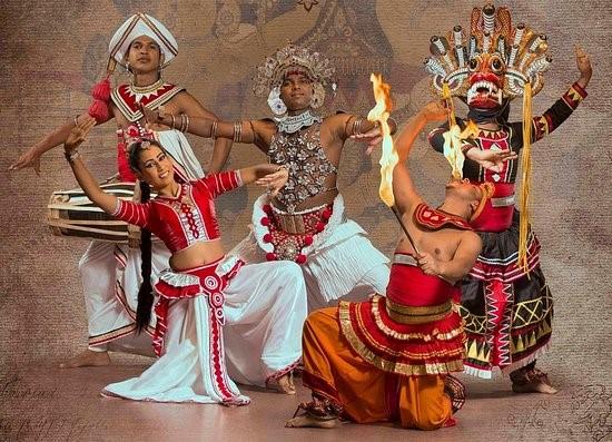 Sri Lankan Traditional Cultural Show at Kandy YMBA